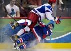 """Ovečkins: """"Krievijā ir labākie hokejisti, automašīnas, meitenes"""""""