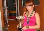 Jansone izcīna divas zelta medaļas pasaules čempionātā pauerliftingā