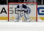 """Maple Leafs"" vārtsargam veikta sirds operācija"