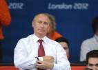 """Putins: """"Olimpieši krievu sirdis piepildīja ar lepnumu par valsti"""""""