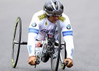 Bijušais F1 pilots Dzanardi gatavs startam Londonas Paralimpiskajās spēlēs