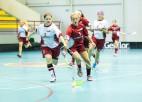 Latvijas sieviešu izlase sarīko paraugspēli mūsu juniorēm