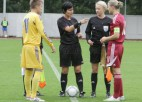 Latvijas U19 meitenes gūst goda vārtus pret Ziemeļīriju