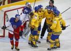 Zviedrijas hokejisti apspēlē čehus un izcīna PČ bronzu