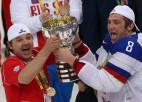 Video: Znaroks un Ovečkins pēc fināla atkārto leģendāro žestu