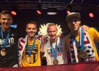 Latvija otro gadu pēc kārtas kļūst par Eiropas čempioni ielu futbolā