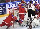 """IIHF tiesnesis: """"Ja plastmasas puļķi vismaz skar caurumu ledū, tad vārti jāskaita"""""""