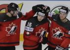 Kanāda grupu turnīru noslēdz ar pieciem vārtiem un uzvaru pār Somiju