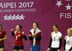 Latvijas volejbolistēm 14. vieta pasaules universiādē, mūsu studentiem pirmā uzvara