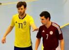 Latvija atspēlējas no 0:3, tomēr 14 vārtu trillerī vēlreiz zaudē Zviedrijā