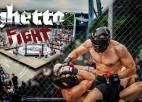 """Video: """"Ghetto Fight Vol. 1"""" starptautiskās pankrationa sacensības Grīziņkalnā"""