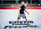 "Latvijā pirmajās ""Ghetto Football Freestyle"" sacensībās triumfē zviedrs Olofsons"