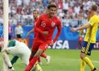 Anglija uzveic Zviedriju un pirmo reizi 28 gadu laikā iekļūst pusfinālā