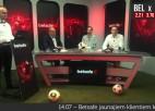 """Video: """"Gols! Uj, Štanga!"""": Bronzas spēles epizode ar Latvijas izlases treneri Pātelainenu"""