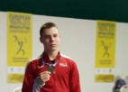 Svarcēlājam Griščenko ceturtā vieta U17 Eiropas čempionātā