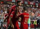 Portugāle bez Ronaldu Nāciju līgas spēlē viesosies Polijā