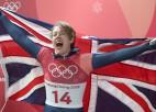 Karjeru beidz divkārtējā olimpiskā čempione skeletonā Jarnolda