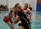 Jēkabpilietes uzvar Rīgā un atgūst pirmo vietu sieviešu Virslīgas tabulā