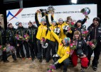 Sezonas kulminācija sasniegta: Ķibermanis - pasaules vicečempions