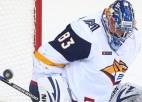 Divas sausās uzvaras izcīnījušais Košečkins – KHL nedēļas labākais vārtsargs