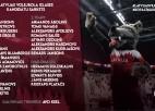 Vīriešu volejbola izlasei kandidātu sarakstā 26 spēlētāji