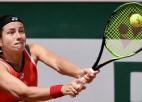 """Sevastovai cīņa par sezonas un """"French Open"""" karjeras lielāko uzvaru"""