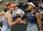 """""""US Open"""" čempionei Osakai trešais mēģinājums šogad uzvarēt Benčiču"""