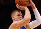 Porziņģis atgriežas NBA basketbolā ar 18 punktiem 19 minūtēs