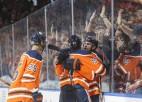 """Draizaitls pagarinājumā izrauj """"Oilers"""" uzvaru pār """"Capitals"""""""