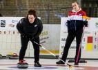 Tukumā Latvijas sieviešu kērlinga izlasei 2. vieta, vīriešu konkurencē uzvar zviedri