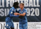 """Zelenkovam uzvaras vārti Itālijā pret Veipu, Oša """"Xamax"""" neizšķirts pret """"Basel"""""""
