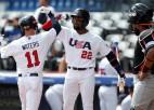 ASV beisbolisti olimpisko kvalifikācijas turnīru sāk ar 9:0 pret Nīderlandi