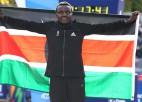 Kenijiete Džepkosegi Ņujorkā uzvar savā pirmajā maratonā