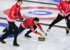 Vīriešu kērlinga izlasei pēdējā pārbaude Čehijā pirms Eiropas čempionāta