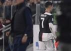 """Ronaldu tiek nomainīts, """"Juventus"""" grūtā cīņā uzvar neveiksmīgo """"Milan"""""""