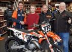 """Motokrosa braucējs Kārlis Reišulis noslēdz līgumu ar """"Hamstra Racing Team"""""""