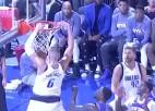 Video: Porziņģis šosezon otro reizi tiek NBA dienas topā