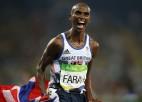Farahs Tokijas olimpiskajās spēlēs plāno atgriezties 10 000 metru distancē