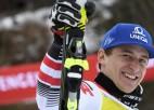 Austrietis Maiers uzvar Pasaules kausa sacensībās Alpu kombinācijā