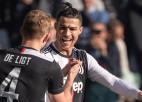 """Ronaldu iesit devītajā spēlē pēc kārtas, atkārtojot """"Juventus"""" rekordu"""