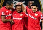 """Septiņu vārtu trillerī Lēverkūzene izrauj uzvaru pret """"Borussia""""'"""