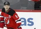 """""""Devils"""" pirms Merzļikina uzvarēšanas veic divus darījumus un aizmaina ilggadējo kapteini"""