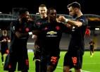 """""""United"""" viesos ar 5:0 sagrauj LASK, """"Basel"""" iesit trīs izbraukumā pret """"Eintracht"""""""