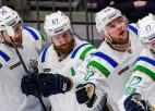 """Teksta tiešraide: KHL aptur """"play-off"""" uz vienu nedēļu, lai...izveidotu jaunu formātu"""