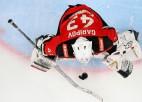 Hārtlija vienības spēlētājs atzīts par nedēļas labāko vārtsargu KHL