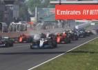 Leklēram saņemot sodu, pirmo virtuālo F1 uzvaru izcīna Rasels