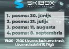 """Rīt Uzvaras parkā sākas """"Skibox balvas"""" skrituļslidošanas seriāla sezona"""