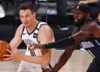 """Kurucs produktīvs cīņā zem groziem, """"Nets"""" piektā uzvara sešās spēlēs"""