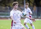 Latvijas U19 futbola izlase dosies uz treniņnometni Liepājā