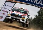 ''Rally Estonia'' ātrākais Tenaks, Sesks/Francis izcīna pirmo uzvaru JWRC klasē